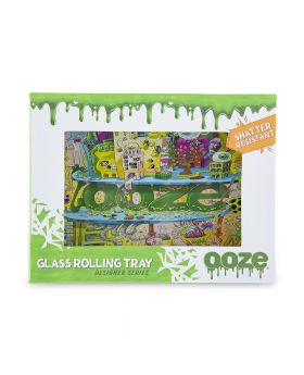 OOZE GLASS TRAY SMALL OOZEVILLE