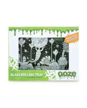 OOZE GLASS TRAY SMALL DYSTOPIA