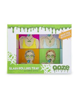 OOZE GLASS TRAY SMALL CANDY SHOP
