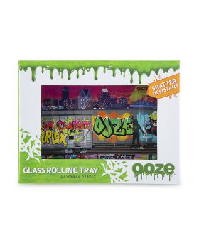 OOZE GLASS TRAY SMALL TAG