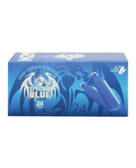 SPECIAL BLUE CREAM CHARGER 24CT