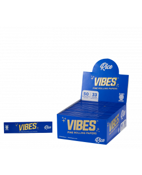 VIBES RICE PAPERS KS 50CT
