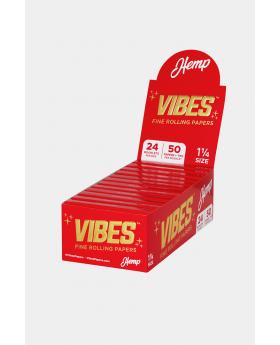 VIBES PAPER FILTER 1.25 HEMP 24C
