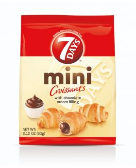 7 DAYS MINI CROISSANT CHOCO 5CT