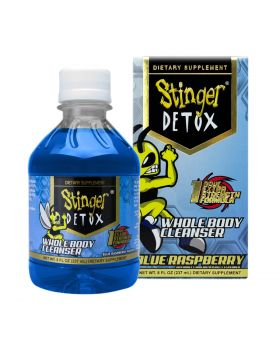 STINGER DETOX BLUE RASPBERRY 8OZ