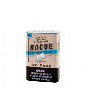 ROGUE GUM PEPPERMINT 2MG 12CT
