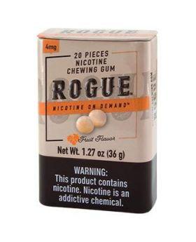 ROGUE GUM FRUIT 4MG 12CT