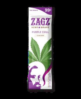 ZAGZ HEMP PURPLE 2F99 25/2PK