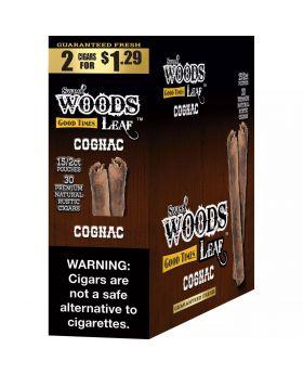 SWEET WOODS 1.29 COGNAC 15/2PK