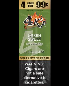 4KS 4F99 GREEN SWEET 15/4PK