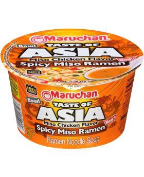 RAMEN BOWL ASIA SPICY MISO 6CT