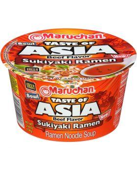 RAMEN BOWL ASIA SUKIYAKI 6CT