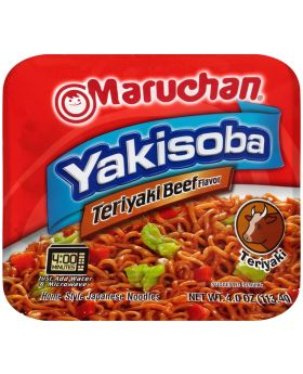 MARUCHAN YAKISOBA TER BEEF 8CT