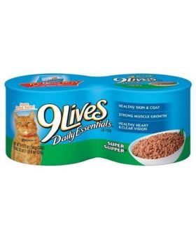 9 LIVES CAT FOOD 4PK