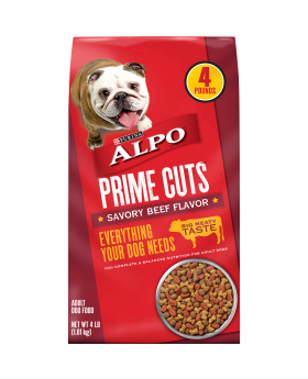 ALPO PRIME CUT DOG FOOD 4 LB 4CT