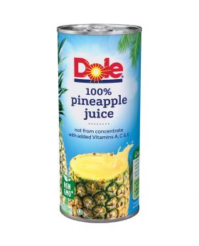 DOLE PINEAPPLE JUICE 8.4oz 24CT