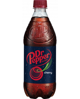 20 OZz DR PEPPER CHERRY 24CT