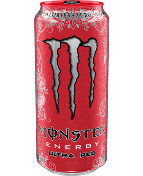 MONSTER ULTRA RED 16 OZ 24 CT