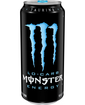 MONSTER BLUE 16 OZ 24 CT