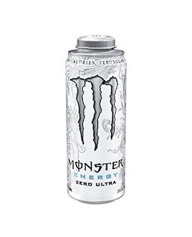 MONSTER-WHITE 24 OZ 12 CT