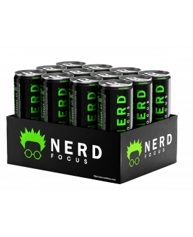 NERD ENERGY GREEN 12OZ 12CT