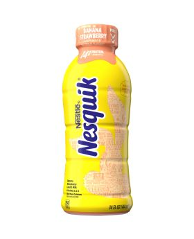 NESQUIK STRAW/BANANA 14OZ 12CT