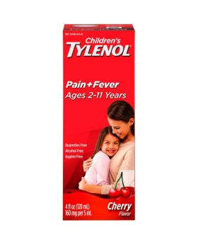 TYLENOL CHILD CHERRY 4 oz