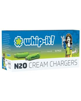 WHIP-IT CREAM CHARGER 50CT/12CS